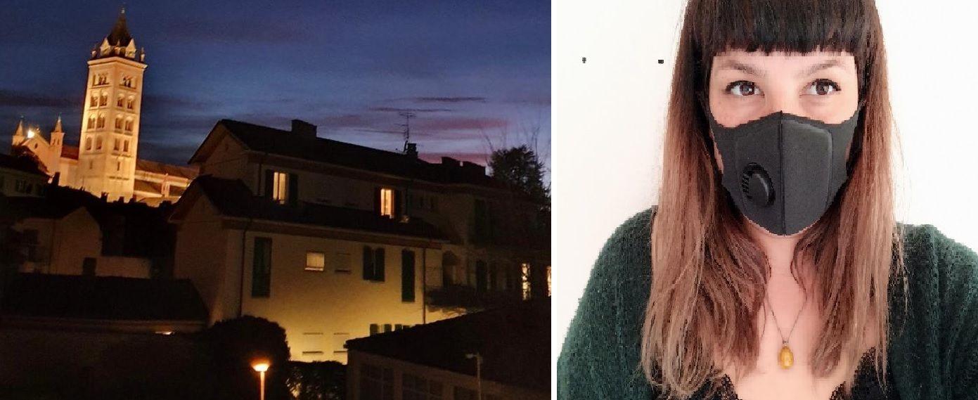 Ariadna von Eckartsberg vive desde hace 15 años en Alba, una pequeña ciudad en el norte de Italia, la zona roja del coronavirus.