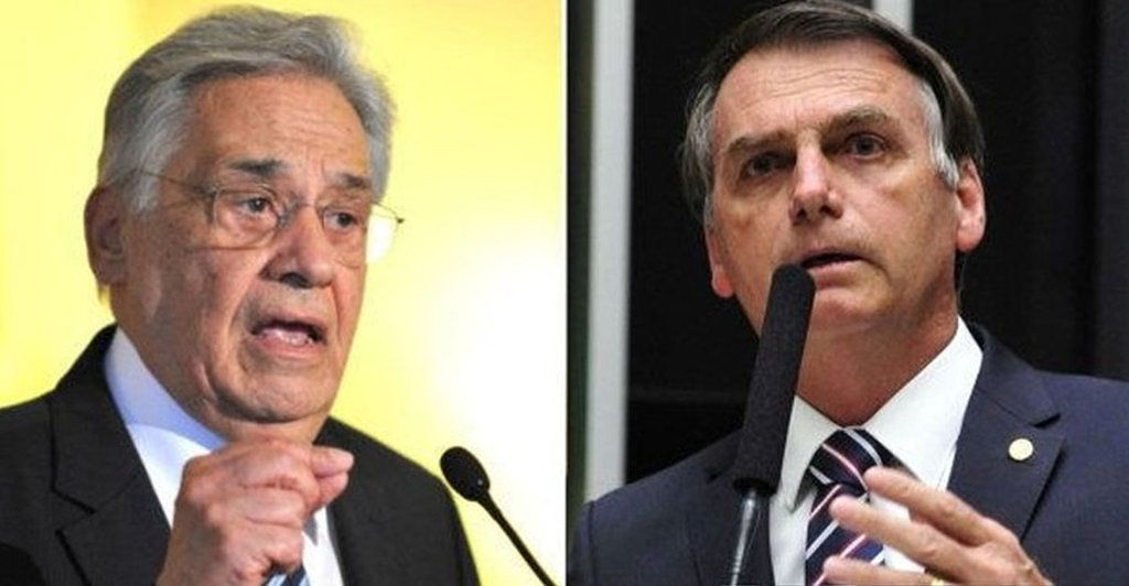 El ex presidente Fernando Henrique Cardoso, del PSDB (de centro) es el principal impulsor de la destitución de Bolsonaro.