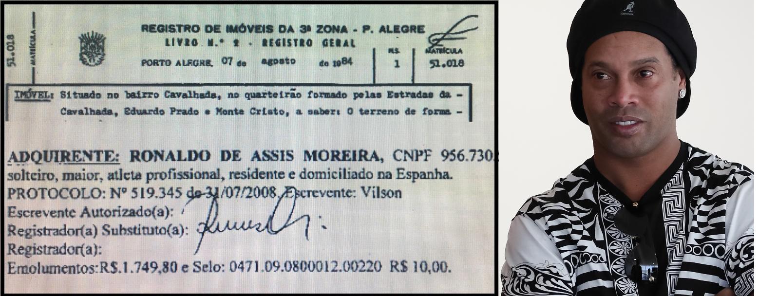 Inmueble de Ronaldinho, en Porto Alegre, donde operaba una mega estructura de juegos clandestinos, según diario brasileño.