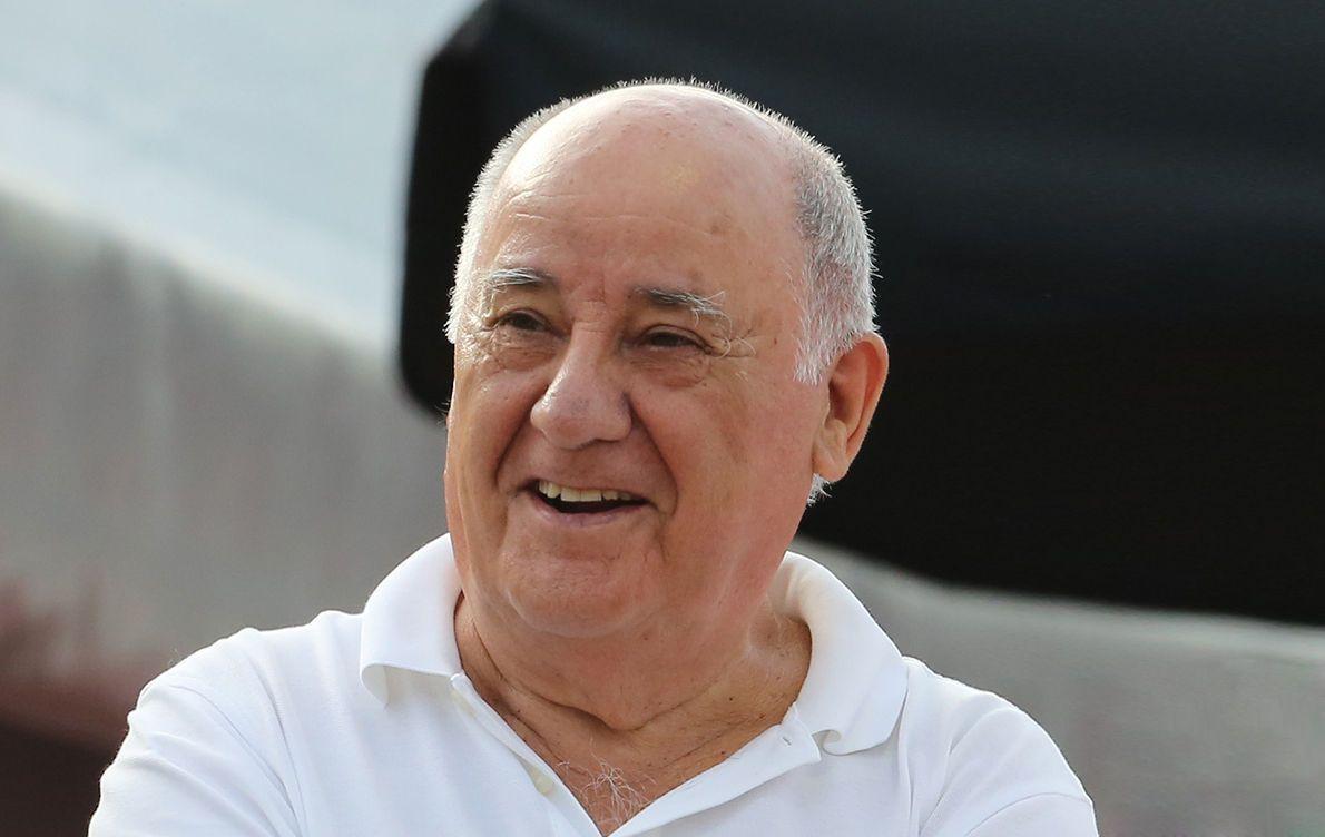Don Amancio Ortega es rico en dinero, pero sobre todo, en filantropía y solidaridad.