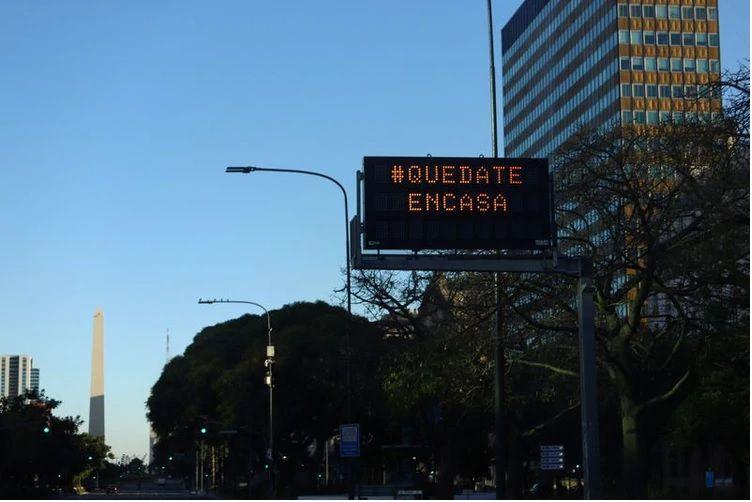 Argentina extiende su cuarentena con ciertas flexibilidades comerciales.