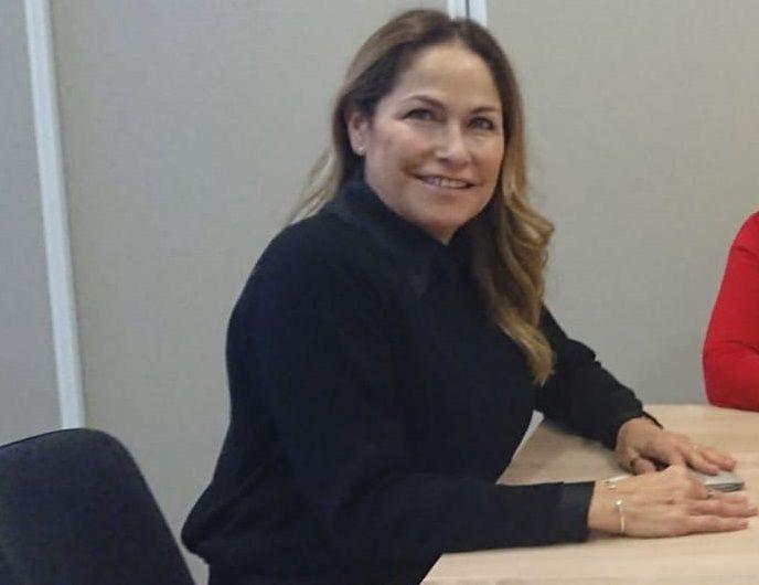 María Soledad Saldivar. consúl de España. (Fuente: Diaconía)