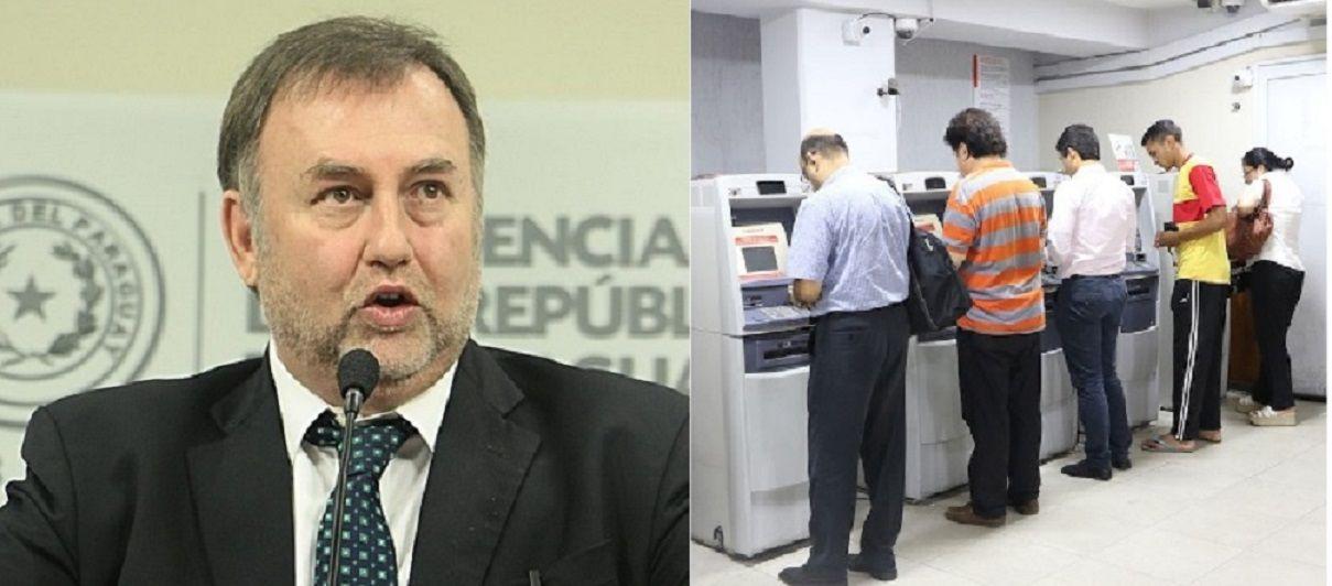 Según Benigno López se estima un ahorro de 30 mil millones de guaraníes por recorte de salarios a funcionarios públicos. La medida va hasta junio