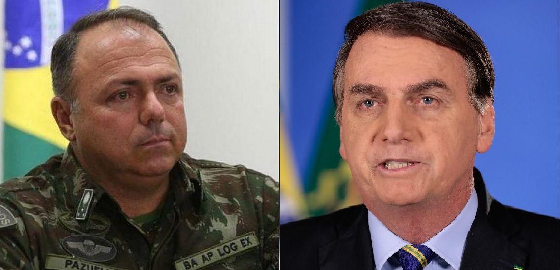 En medio de la crisis, Bolsonaro pone al militar Eduardo Pazuello a cargo de la salud.