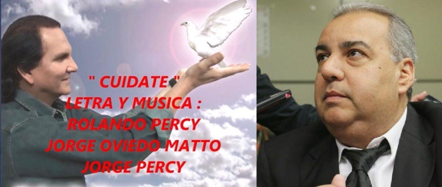 Foto que ilustra el video de la canción de Rolando Percy en coautoría con Jorge Oviedo Matto.