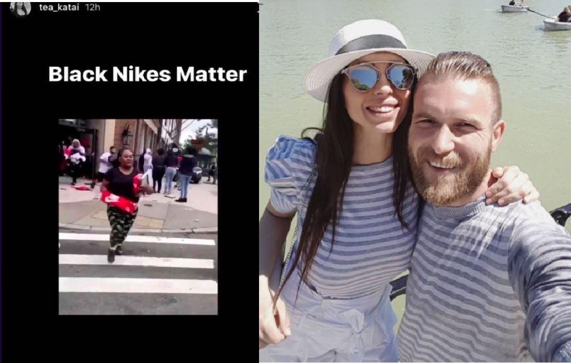 El futbolista Aleksandar Katai perdió su trabajo en L.A. Galaxy por comentarios racistas de su esposa en redes sociales.