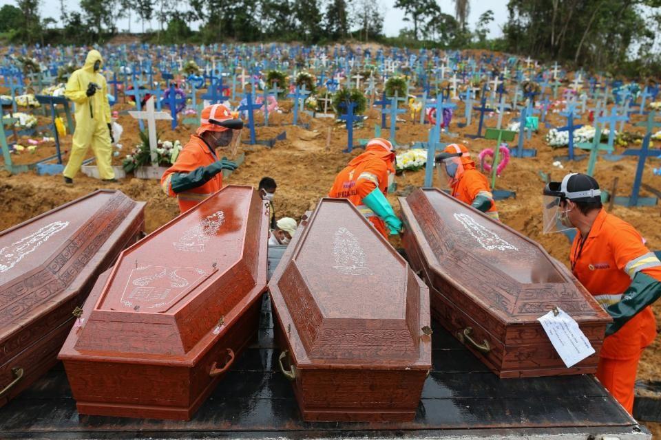 Seis medios brasileños se pusieron de acuerdo para seguir informando sobre la pandemia.