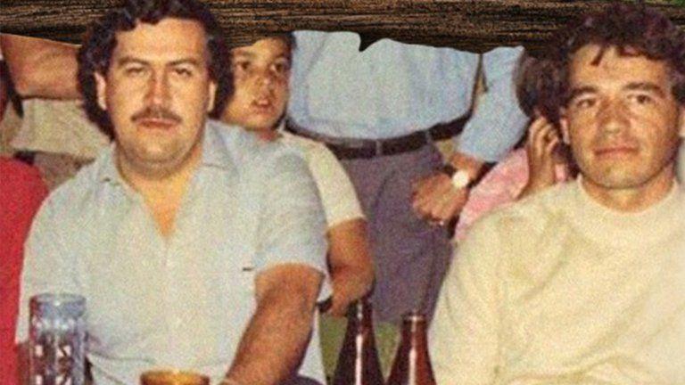 """Pablo Escobar y Carlos Lehder eran socios hasta que el """"patrón"""" lo entregó a la extradición."""