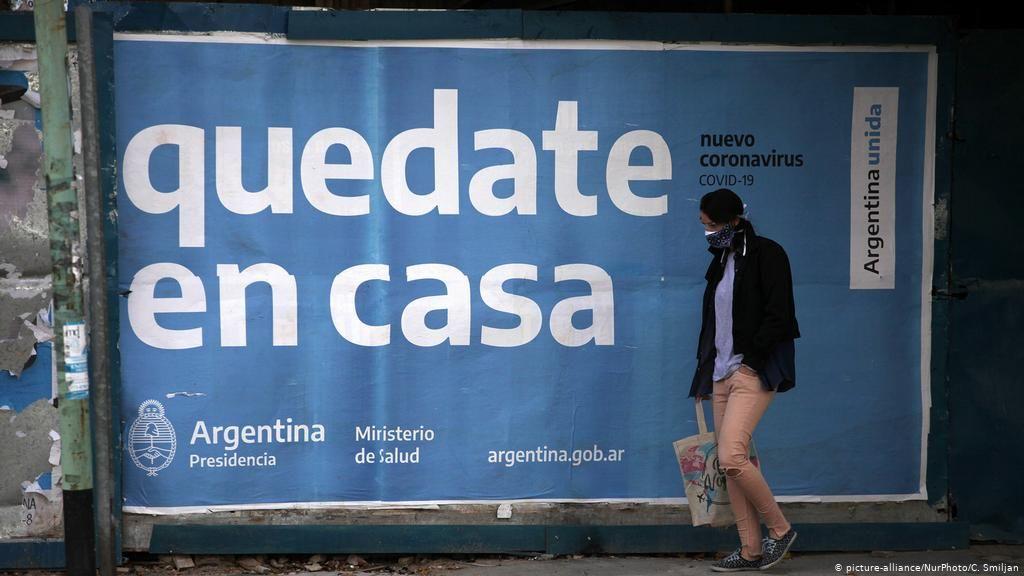 El coronavirus está sacudiendo a Argentina con cifra récord.