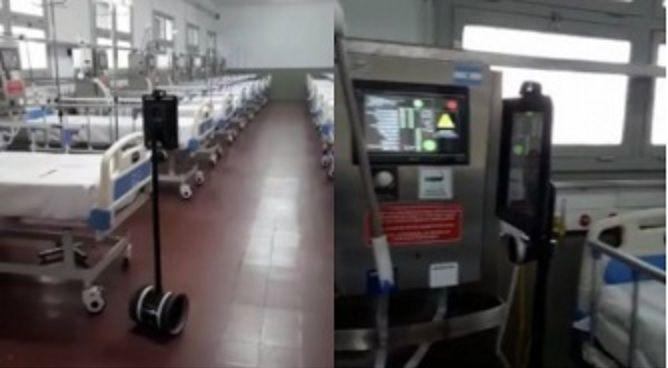 Innovadora manera de atender a pacientes en Corrientes con el enfermero robot.