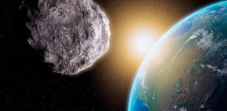 """El """"asteroide peligroso"""" 2020ND se acerca a la Tierra."""