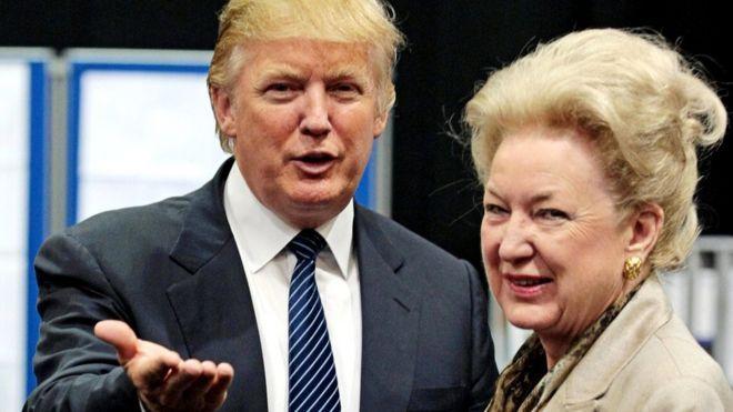 Maryanne Trump Barry cuestiona duramente a su hermano Donald Trump en el audio.