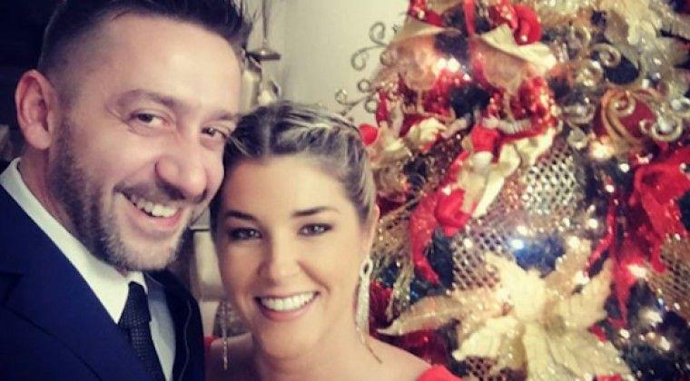 Cynthia Tarragó y su marido en otros tiempos. Ahora están en USA complicados con la justicia.