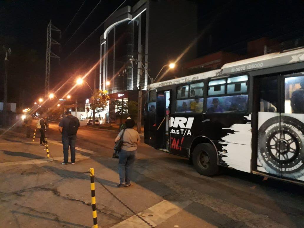 Asunción disminuyó radicalmente los movimientos de personas por el aislamiento obligatorio
