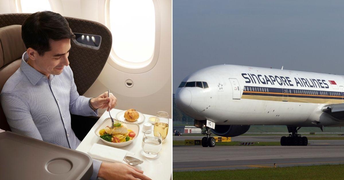 Una aerolínea de Singapur transforma sus aviones en restaurantes.