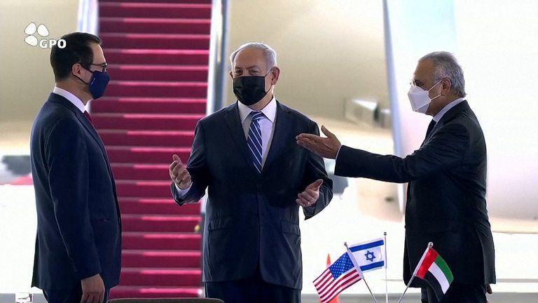 La llegada de la delegación de EAU a Israel para firmar acuerdos y estrechar lazos es sin precedentes.