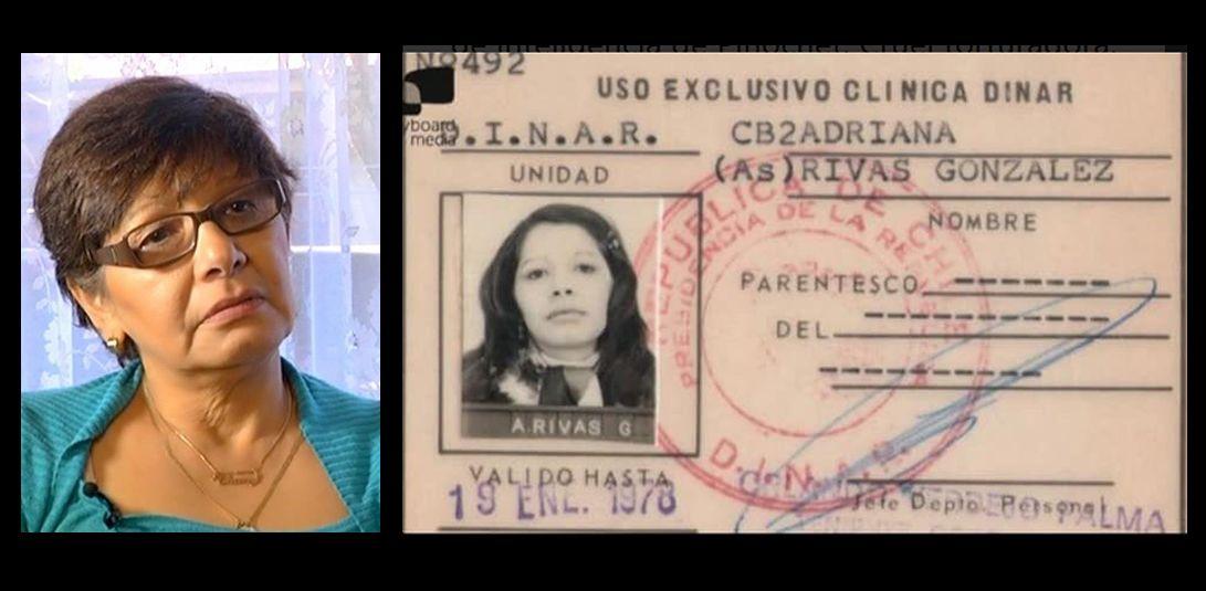 Adriana Rivas enfrenta cargos relacionados con torturas y delitos de secuestro durante la dictadura de Pinochet.