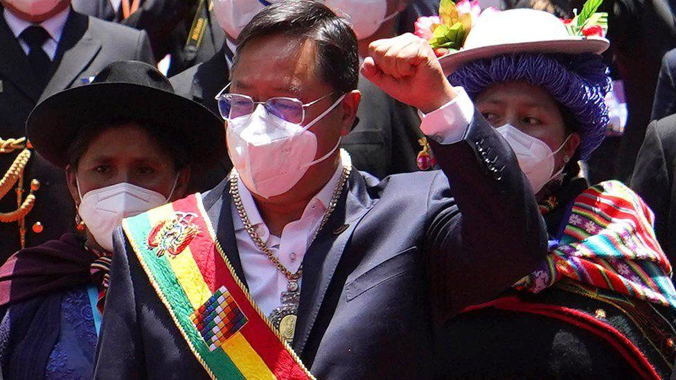 Luis Arce resultó electo con más del 55% de los votos.