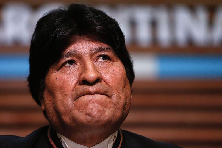 Evo Morales sigue siendo el presidente de su partido político.