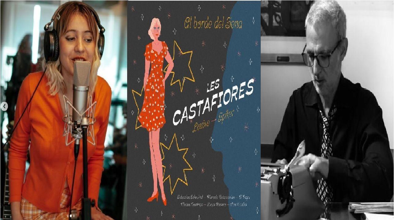 El dúo Les Castafiores formado por Louise Nuñez de Arco y Mario Siperman hicieron su tema debut.