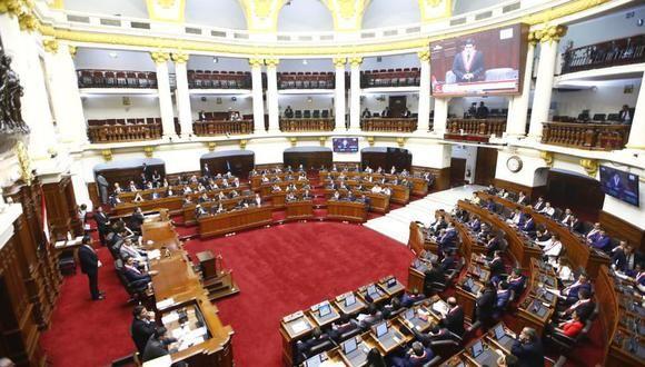 En la sesión de ayer, el pleno del Congreso ratificó la eliminación de la inmunidad parlamentaria