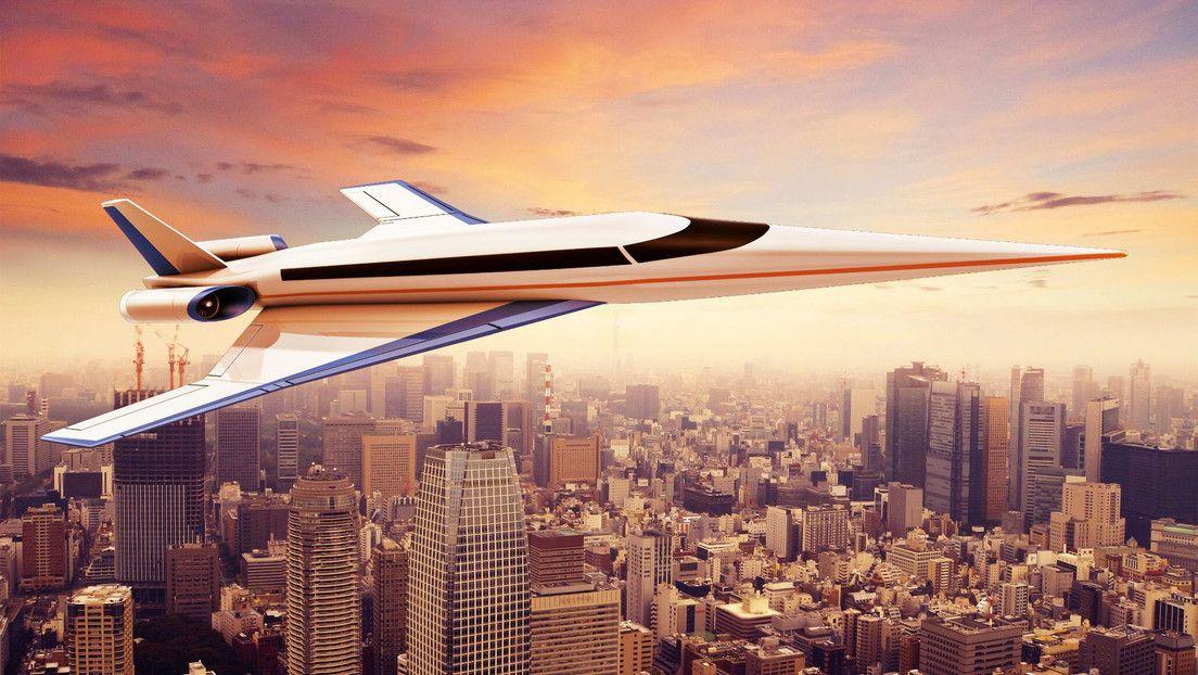El avión supersónico es la apuesta del futuro.
