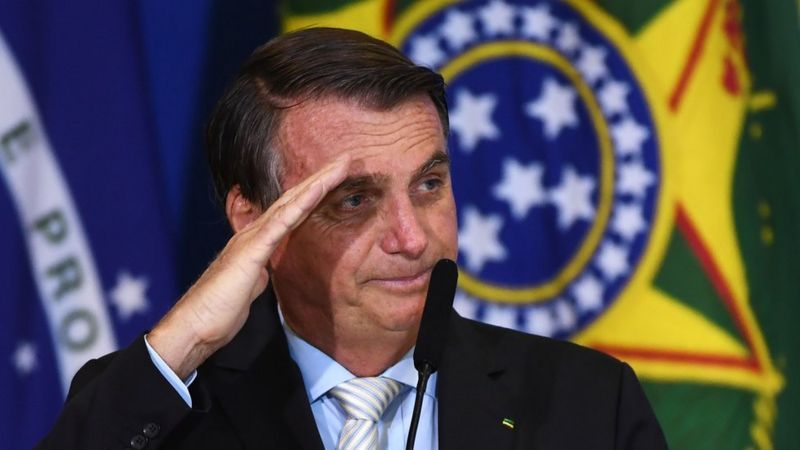 Seguidores de Jair Bolsonaro, nostálgicos de la dictadura militar.